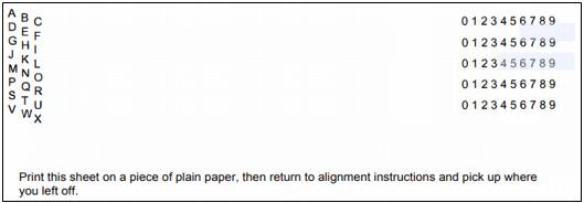 Align cheques in QuickBooks printer setup