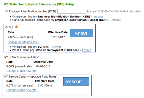 Update SUI rates based on tax rate notice - QuickBooks Learn