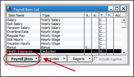 how to set up the tax tracking type hsa emp taxable for employee