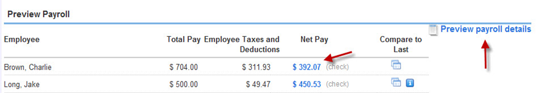 Preview fringe benefits payroll in QuickBooks