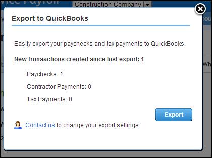 Export to QuickBooks for Windows or Mac (IIF) - QuickBooks