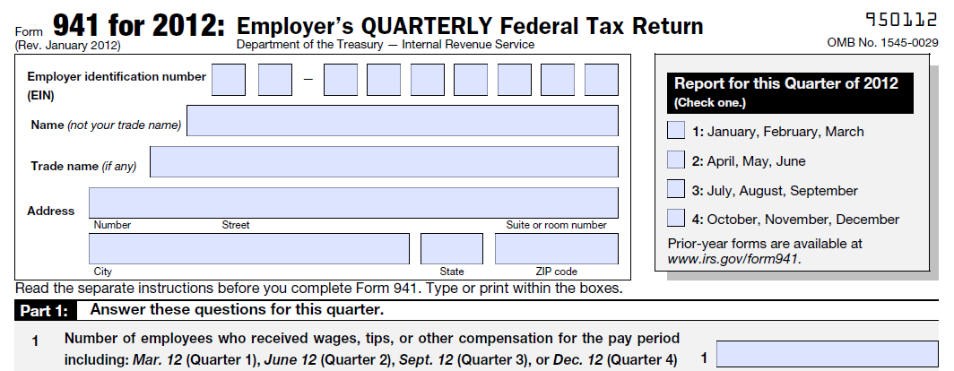 Line 1 Of Form 941 Incorrect Number Of Employees Quickbooks Learn