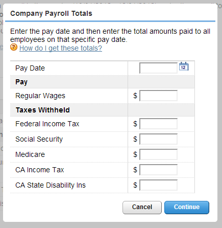 Enter Prior Payrolls - QuickBooks Learn & Support