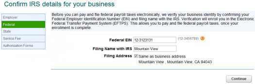 Enroll to electronically pay and file taxes - QuickBooks Learn ...
