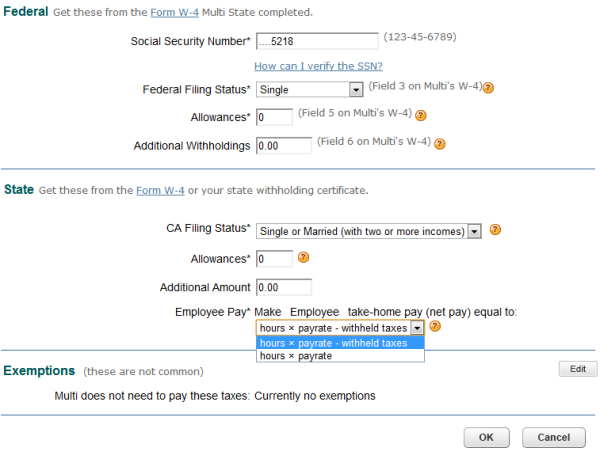 Intuit Online Payroll Assumes That The Full Amount That They Pay Is Subject To Employment Taxes