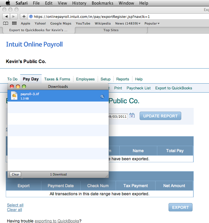 Free quickbooks payroll software download