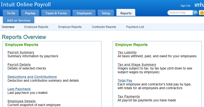 View payroll tax reports - QuickBooks Learn & Support