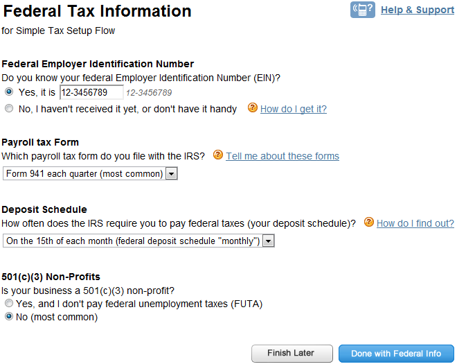 tax id 501 c 3 form