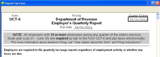 How to use E-file and E-pay in Florida - QuickBooks Learn & Support