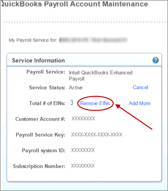 Quickbooks Self Employed Login >> Remove or deactivate an Employer Identification Number (EIN) - QuickBooks Learn & Support