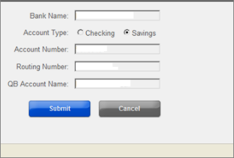 Change your direct deposit bank account for QuickBooks