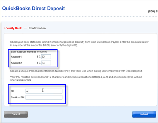 Change your Direct Deposit bank account (desktop payroll ...
