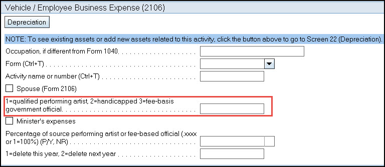 tax reform employee business expense form 2106 accountants community