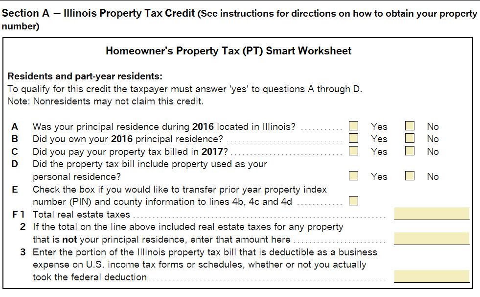 Il Property Tax Credit Limitations Accountants Community