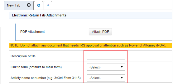 How To Attach Pdf Documents To An Proconnect Tax Online Individu
