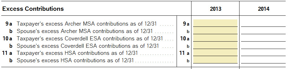Hsa Deduction When No Self Made Contributions On Form 8889 Line 2