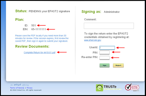 What Is Efast2 And How To E File The Form 5500 Accountants Community