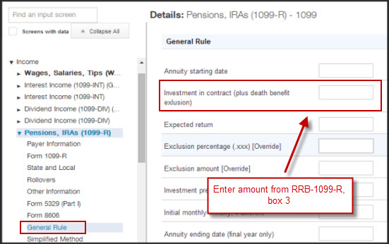 Individual Tax Form Rrb 1099 R Railroad Retirement Board Benefits