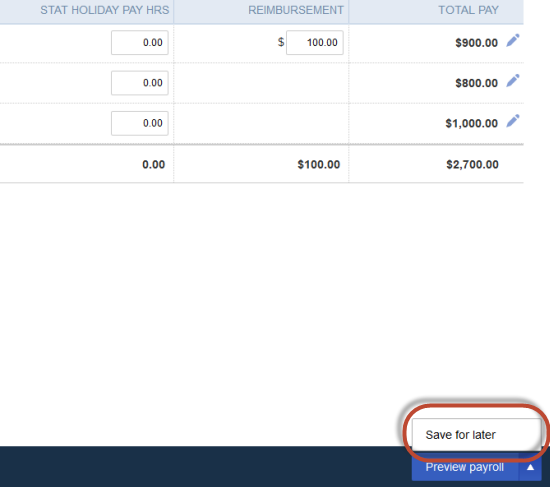 how to delete pay run from quickbook