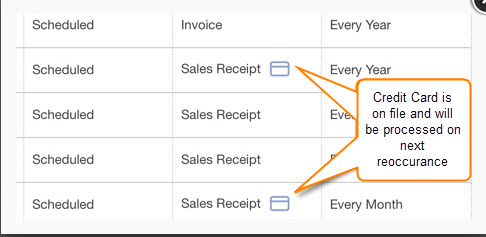 set up recurring sales receipt in quickbooks online quickbooks