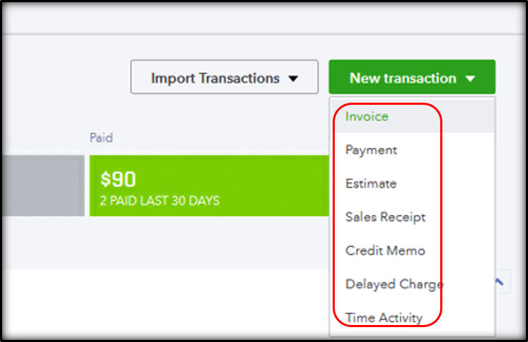 assign class to shipping charge in QuickBooks Online