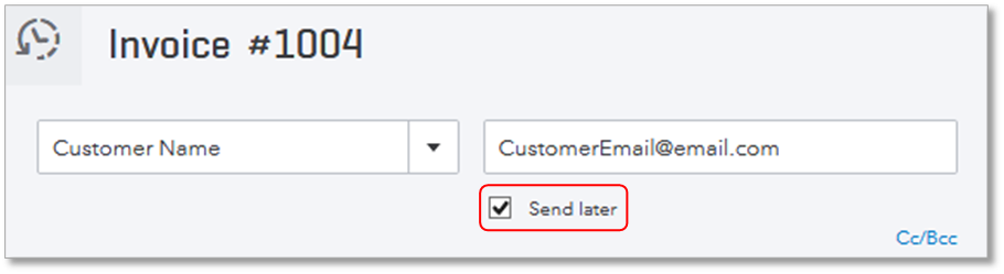 Use EInvoice QuickBooks Learn Support - Sending an invoice via email