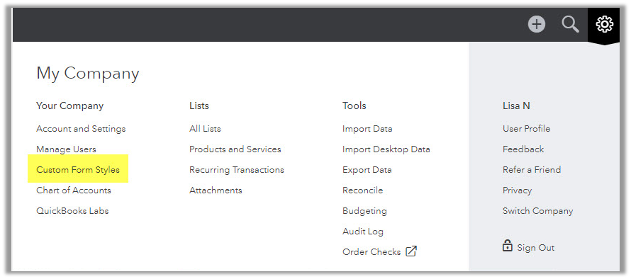 import custom invoice into quickbooks online quickbooks learn