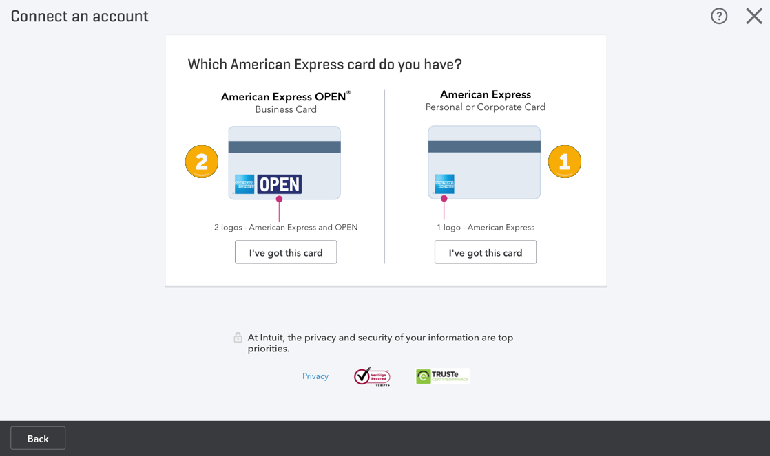 Access and use american express connect to quickbooks quickbooks user added image colourmoves