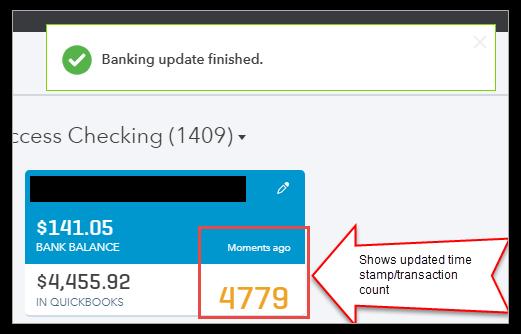 Repair Banking Error 102 And 105 In QuickBooks Online