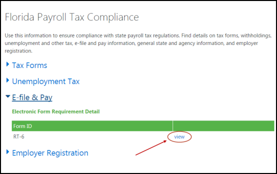 view e-file and pay form IDs in QuickBooks Payroll
