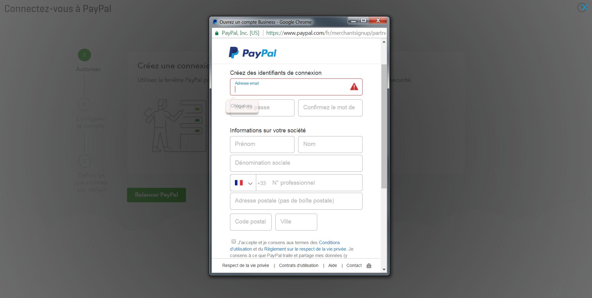 QuickBooks Paypal