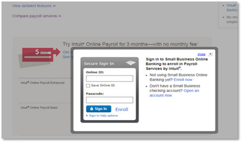 Bank of America (BofA) user setup for Online Business Suite
