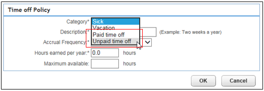 Set up time off policy in Online Payroll - QuickBooks Learn