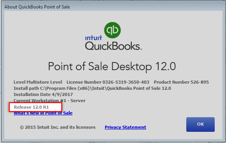 Update QuickBooks Point of Sale for Desktop to the latest release ...