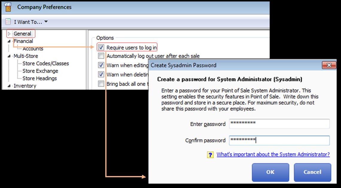 Create and customize a user login in QuickBooks Desktop