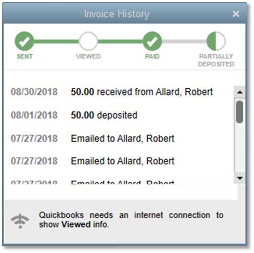 Whats New In QuickBooks Enterprise V - Quickbooks invoice status
