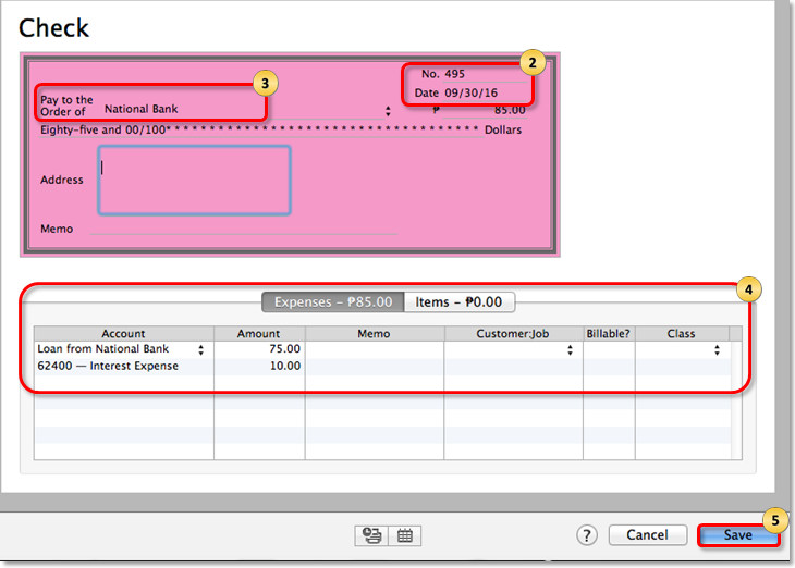 Manually Track Loans In Quickbooks Desktop