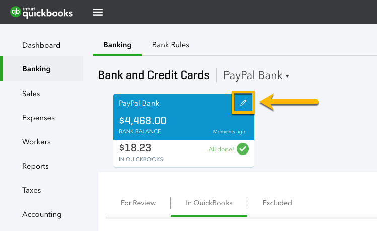 Use the Connect to PayPal app - QuickBooks Community