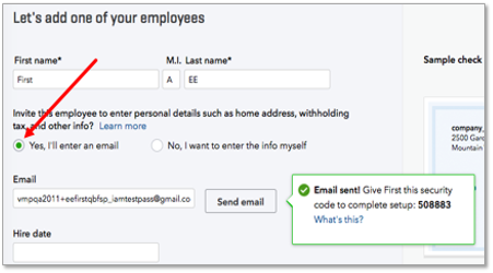 how to set up employees in quickbooks online