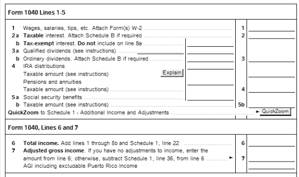 New For Tax Year 2018 Proseries 1040 Postcard Worksheet