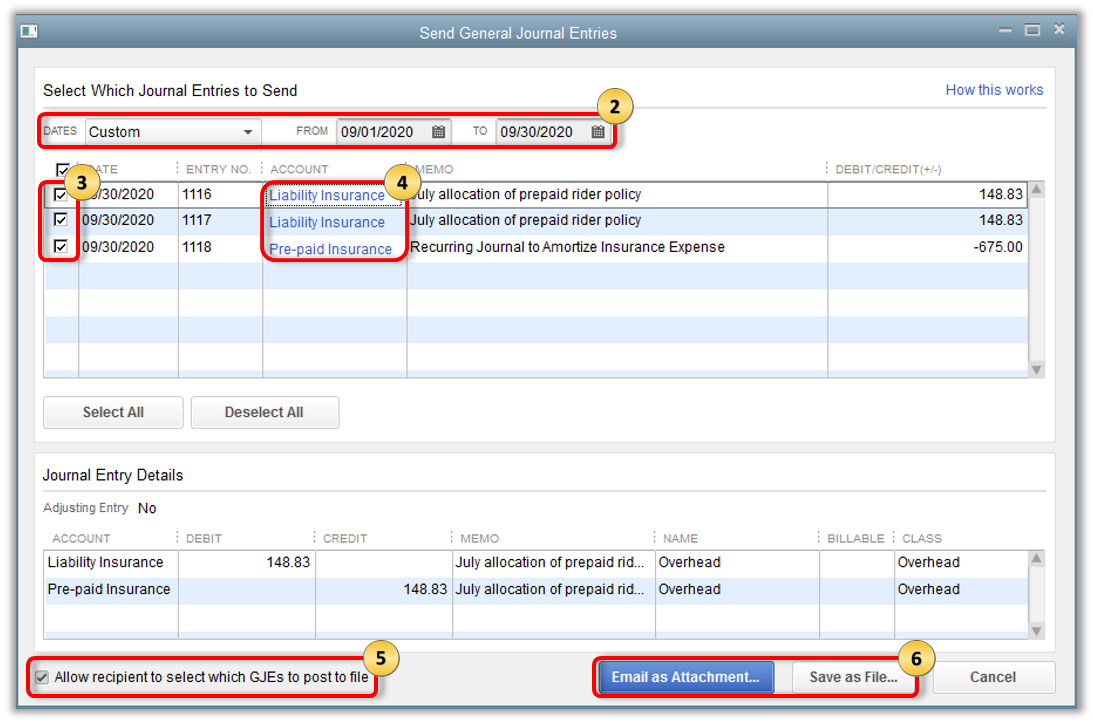 Send and import General Journal Entries - QuickBooks Community