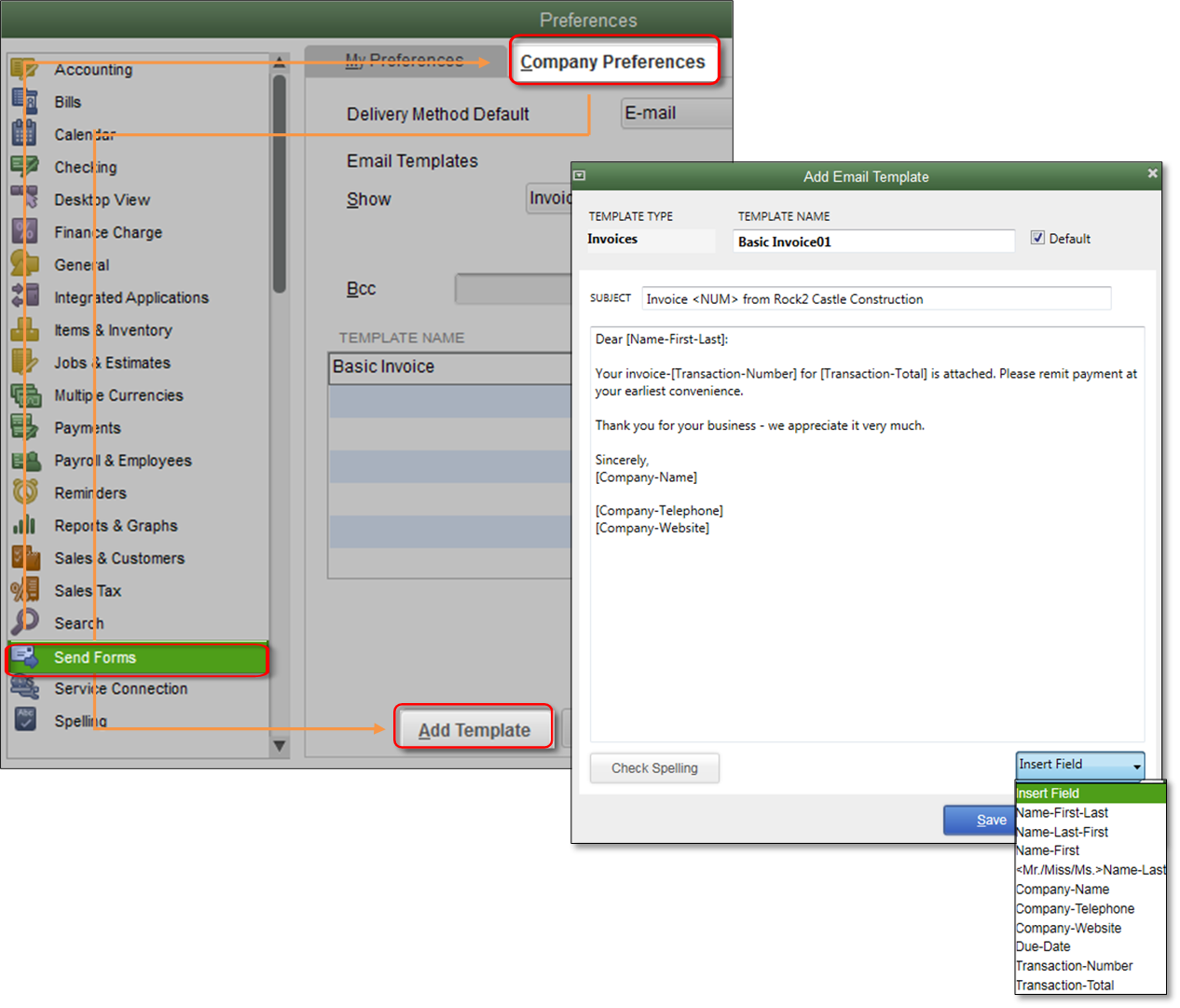 Customize email templates in QuickBooks - QuickBooks Learn & Support