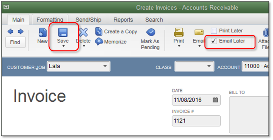 Customize Email Templates In Quickbooks Quickbooks Community