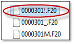 This is how user can find out if they have to extract their client's fixed asset file using a compressor tool.