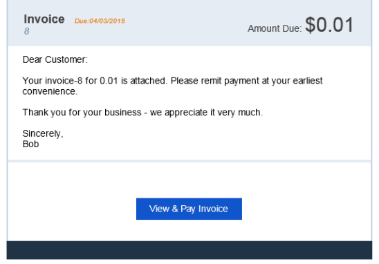 Create Invoices With Payment Link QuickBooks Learn Support - Email for invoice payment