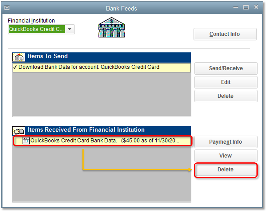 Bank Feeds duplicate statement download or import