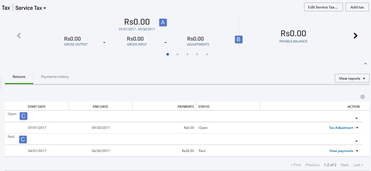 Screenshot of Equation, Payment Period, Net Payable Balance